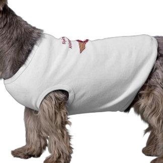 Fourrure de vol - chemise de chienchien t-shirt