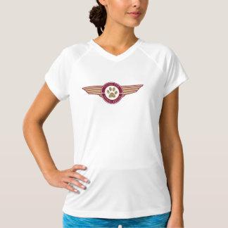 Fourrure de vol - la pièce en t courte de la femme t-shirt