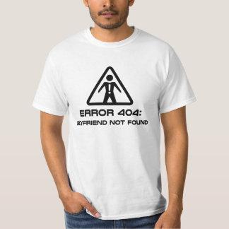Fout 404 Gevonden niet Vriend T Shirt