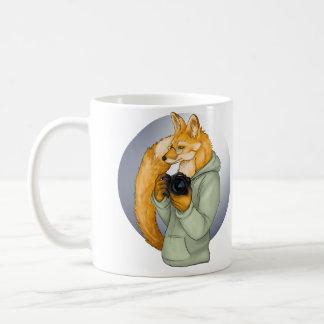 Fox de photographe de hippie mug