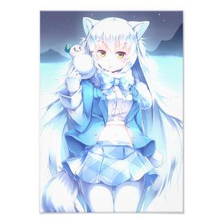Fox gris de Waifu Impression Photo