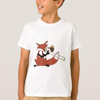 Fox jouant le trombone t-shirt