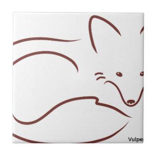 Fox rouge petit carreau carré