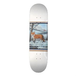 Fox rouge skateboards customisés