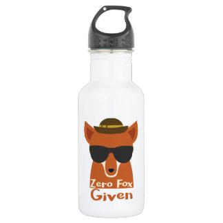 Fox zéro donné bouteille d'eau