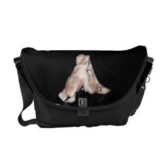 Fractal van de Schoenen van het ballet de Zak van Messenger Bag
