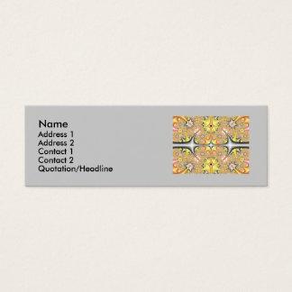 fractalcard, nom, adresse… mini carte de visite