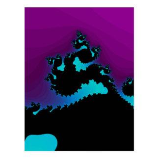 Fractale de dragon : carte postale