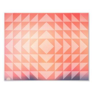 fractales g om triques de triangles d 39 art bleues photo sur toile. Black Bedroom Furniture Sets. Home Design Ideas