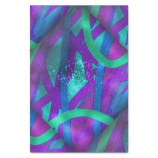 Fractales lumineuses papier mousseline