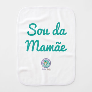 Fraldinha de Boca Je suis de la Mère Linges De Bébé