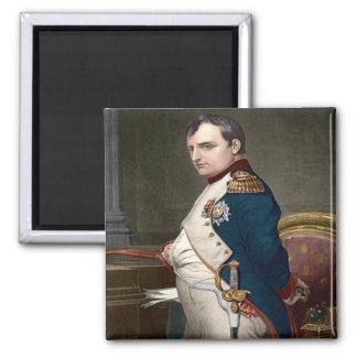 Franc - La France - Napoleon Bonaparte Magnet Carré