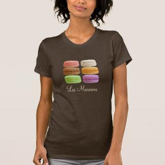 Français Macarons - pastels muti-colorés T-shirt