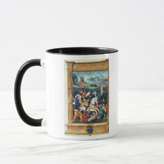Francois I à la bataille de Marignano Mug