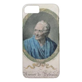 Francois Marie Arouet de Voltaire (1694-1778) engr Coque iPhone 7