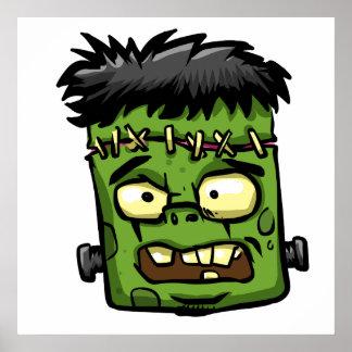 Frankenstein de bébé - contreseing de bébé - poster
