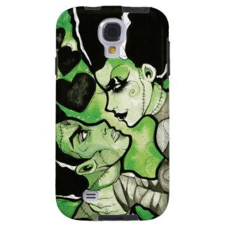 Frankenstein et son cas de téléphone de jeune mari coque galaxy s4