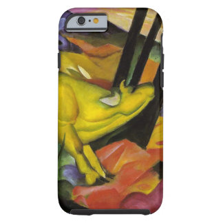 Franz Marc - de Gele Koe - Expressionistisch Art. Tough iPhone 6 Hoesje