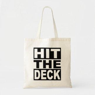 Frappez la plate-forme sac en toile budget