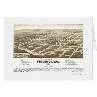 Frederick, carte panoramique d'écart-type - 1883