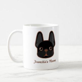 Frenchie Brindle solide conçoivent en fonction du Mug