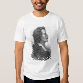 Friedrich Schiller a gravé par Massol T-shirt