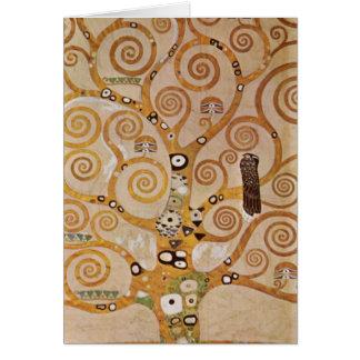 Frise II par Gustav Klimt Carte