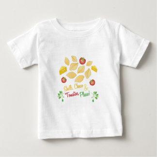 Fromage de coquilles t-shirt pour bébé