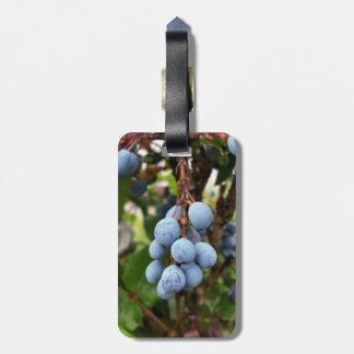 Fruit de prunellier étiquette à bagage