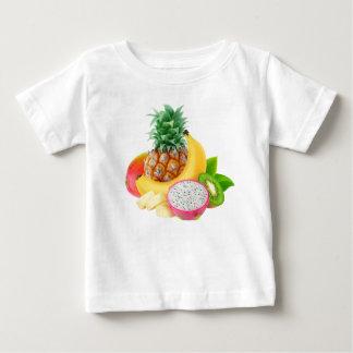 Fruits tropicaux t-shirt pour bébé