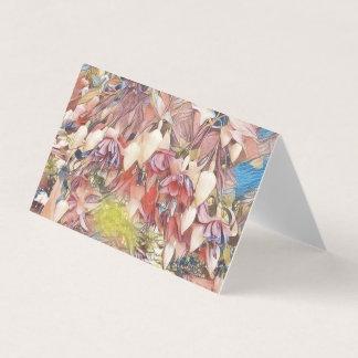 Fuchsias dans la carte de fleur