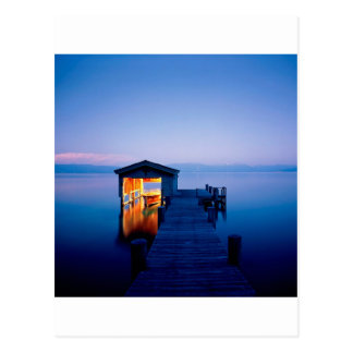 Fuite tranquille Tahoe Nevada de lac Carte Postale