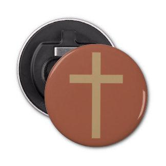 Fundamentele Christelijke Dwars Gouden Verhouding Button Flesopener