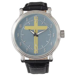 Fundamentele Christelijke Dwars Gouden Verhouding Horloges