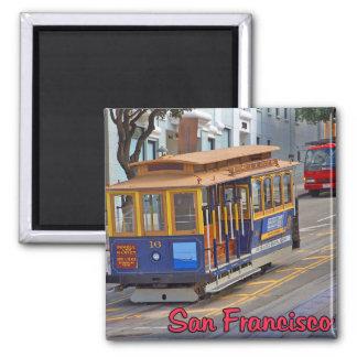 Funiculaire à San Francisco Aimant Pour Réfrigérateur