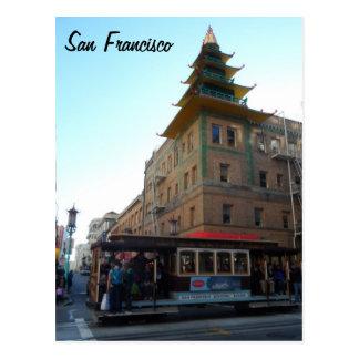 Funiculaire de San Francisco Carte Postale