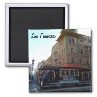 Funiculaire de San Francisco Magnet Carré
