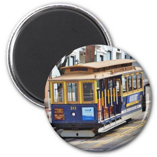 Funiculaires à San Francisco Magnets Pour Réfrigérateur