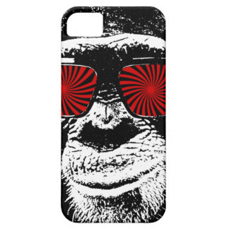 Funny monkey barely there iPhone 5 hoesje