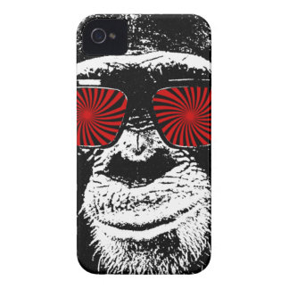 Funny monkey iPhone 4 Case-Mate hoesjes