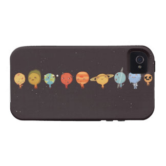 Funny planet vibe iPhone 4 hoesjes