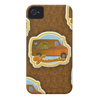 Funny Van Shag Pattern iPhone 4 Hoesje