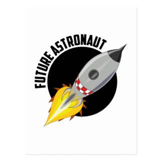Futur astronaute carte postale