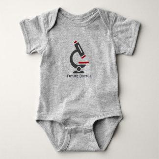 Futur docteur Microscope Design Baby Clothing Body