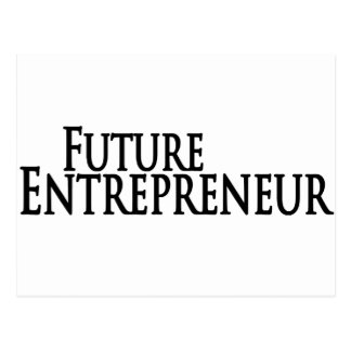 futur entrepreneur carte postale