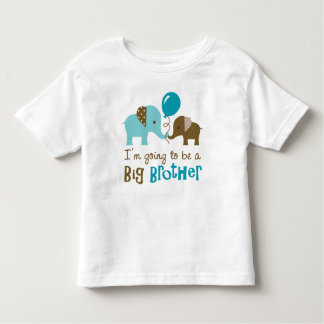 Futur frère - éléphant de mod t-shirt pour les tous petits