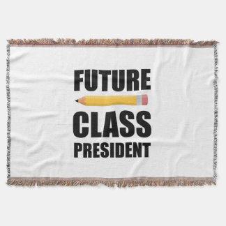 Futur président de classe couvre pied de lit