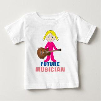 Futur T-shirt du Jersey d'amende d'enfant en bas