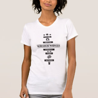 Future femme de merveille de héroïne t-shirt