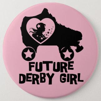 Future fille de Derby, conception de patinage de Badge Rond 15,2 Cm